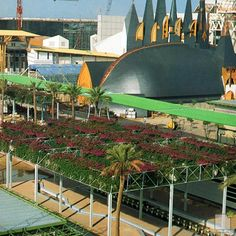 Pergolas en Expo 92 de Sevilla Places Ive Been, Places To Go, Great Gatsby Party, World's Fair, Barcelona, Seville, Hungary, Spain, Travel