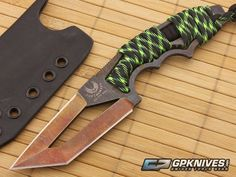 Not sure about that blade style, but i like it! Bawidamann Blades POGN L CW Rustic S35VN