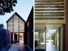dairy barn renovation, sustainable renovation, eco friendly renovation, renovation architecture, Skene Catling De Le Peña, daylighting, local materials architecture