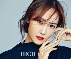Jessica Jung posing in a photo shoot for High Cut Magazine.
