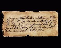Det kan vara svårt att tyda handstilen i gamla dokument och brev. Här är några användbara sajter med läsövningar. Genealogy, Sheet Music, Music Score, Music Charts, Family History, Music Sheets