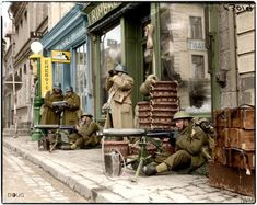 Not Too Sure Why But These Images Always Make Me Sad - 20 Beautiful Colorized Images of WW2 - Page 2 of 2