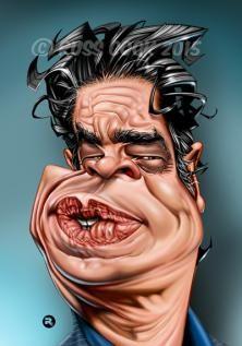Benicio DelToro by Russ Cook