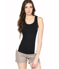45% OFF on Espresso Black Tank Top