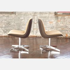 Steelcase Chair Brown Set