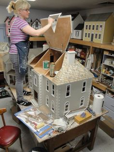 1000 Images About Dollhouse Amp Cottages On Pinterest