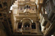Sandstone Haveli. Jaisalmer, India.
