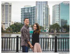 Krista Lajara Photography || www.klpstudios.co || Downtown Orlando Engagement Shoot || Lake Eola || Wedding || City || Engaged || Pose || Ring || Cute || Couples || love || Florida || Photographer ||