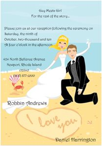 reception only wedding invitation wording for destination weddings