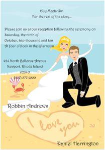 Reception only wedding invitation wording for destination weddings