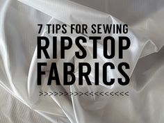 If you are sewing light fabrics like ripstop nylon for the first time you might be surprised at how frustrating it can be compared to heavier materials. If you are set up for heavy fabrics you wil…