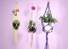 Make a Macramé Plant Hanger on Etsy