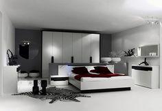 modern style bedroom designs
