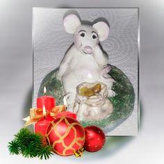 Маленькая крыска. Эксперименты с массой для лепки на основе глины