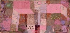 Paul Klee | Gartenhaus - Garden house | 1929 | © Albertina, Wien. Dauerleihgabe der Sammlung Forberg #MonetBisPicasso #MonetToPicasso