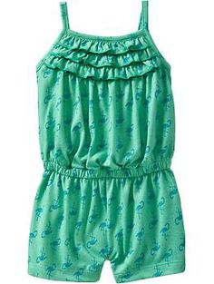 Ruffle Front Rompers for Baby | Old Navy