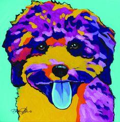 Perro Shih Tzu, Shih Tzu Dog, Dog Pop Art, Dog Art, Dog Lover Gifts, Dog Gifts, Dog Lovers, Cat Background, Arte Pop