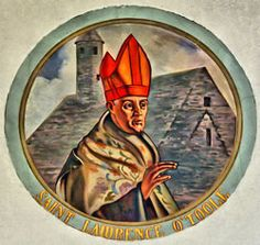 St. Lawrence, it appears, was born about the year 1125.. Check out my Saint of the day!