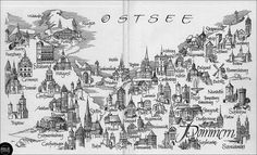 "Landkarte ""Pommern"", prowincja Pomorze Zachodnie | Flickr - Photo Sharing!"