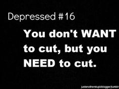 I've been cut free for for two weeks and im dying in pain my thoughts are destroying me. I need to badly.