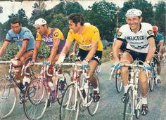 Felice Gimondi, Raymond Poulidor, Eddy Merckx, Roger Pingeon… Il y avait d'autres coureurs dans le tour de France ? Me souviens de ces 4 là :-)