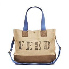 FEED Function Bag: The money for these bags go on to feed hungry school kids!