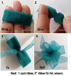 ribbon bow tute