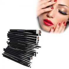 20 Pcs Makeup Brush Set| Home Goods Galore