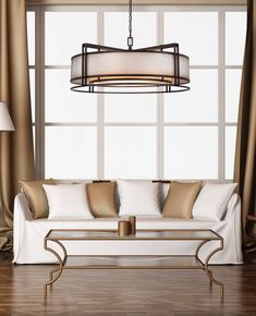 N6967-1-267B Metropolitan Lighting Fixture Co. Living Room Goals, Living Room Decor, Wall Sconce Lighting, Pendant Lighting, Metropolitan Lighting, Drum Pendant, Minka, Lighting Design, Design Inspiration