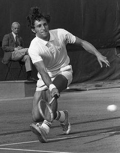 Jan Kodeš - 1970 French Open Men's Singles Final. Kodeš def. Željko Franulović, 6–2, 6–4, 6–0