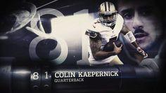Top 100 of 2014. Voted #81 QB Colin Kaepernick.