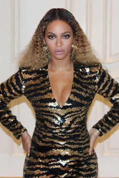 Beyoncè at The CEE 75th Anniversary gala with Beyonce March 5, 2016