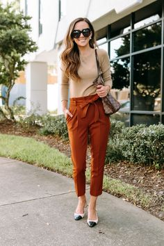 The Fall Boots & Booties I'm Loving This Year - Fall + Winter Outfit Ideas - Business Casual Outfits For Women, Trendy Fall Outfits, Fall Outfits For Work, Casual Work Outfits, Business Attire, Work Attire, Fall Winter Outfits, Work Casual, Office Attire