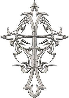 Celtic Cross Tattoos for Men | Designs For - Free Download Tattoo #12605 Cross Tattoos For Men ...