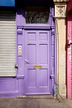 one day i will have my own princess pad and the door will be lavender