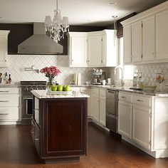 painted kitchen backsplash photos benjamin senora gray home ideas 21201