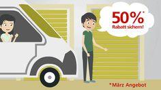 Kalte Tage, warme Preise!! Bei LAGERBOX in Leipzig bieten wir im März auf alle Lagerräume 50% Rabatt auf die ersten 3 Monate an!! http://www.lagerbox.com/lagerraum-mieten-leipzig/