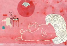 Sweet dreams by yaelfran on Etsy, $25.00