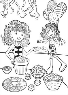 Coloriage Dessins. Groovy Girls 26