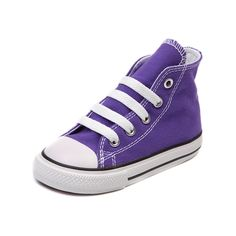 abb20c6caac Shop for Toddler Converse All Star Hi Sneaker in Electric Purple at  Journeys Kidz. Shop