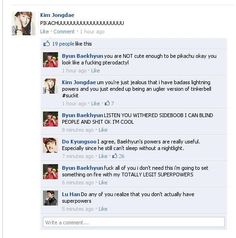 Luhan, why are you the one with the common sense ><