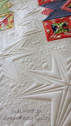 Starburst Sneak Peek! - Green Fairy Quilts