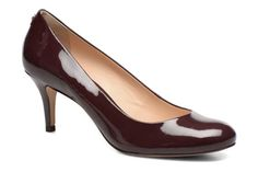 Zapatos de tacón COSMOPARIS Jennie Ver Prune vista 3/4