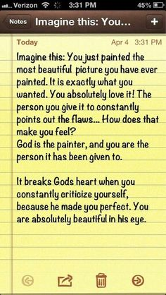 <3 God is our maker, and we are His masterpiece @sarahwhiddon