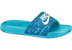 promo code 44840 93bef Nike Benassi JDI Print Women s Slide 618919 Size 9 Nike Flip Flops, Womens  Flip Flops