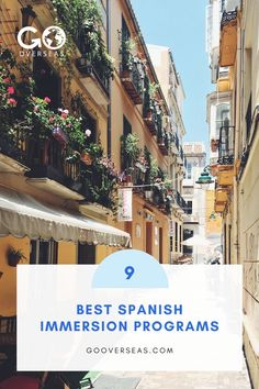 We've selected the top 9 Spanish immersion programs around the world to make your leap into learning Spanish so much easier! Spanish Immersion Programs, Spanish Speaking Countries, How To Speak Spanish, Learning Spanish, Programming, The Good Place, Improve Yourself, Around The Worlds, Language