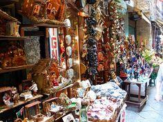 Christmas in Naples, via San Gregorio Armeno
