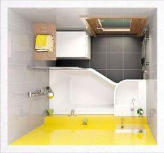 Дизайн маленькой ванной комнаты: 100 фото, идеи