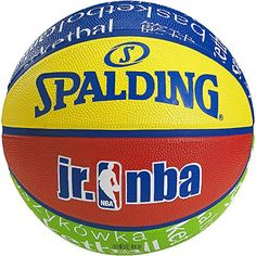 Spalding Kids NBA Basket Ball - Multicoloured The Spalding Junior NBA is a beginners basketball especially suitable for children. It comes in size 5 and has a durable rubber surface with an eye-catching design in vi (Barcode EAN = 4051309336655) http://www.comparestoreprices.co.uk/december-2016-6/spalding-kids-nba-basket-ball--multicoloured.asp