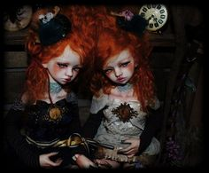 Bellosse BJD Twins - But why are the so sad?